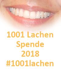 1001 Lachen Spende 2018